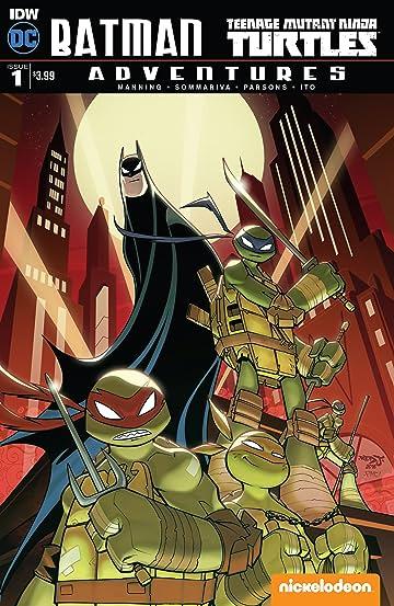 Batman TMNT Adventures #1 (of 6)
