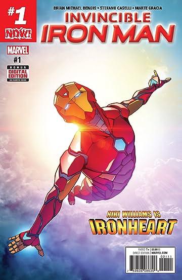 Now Invincible Iron Man #1
