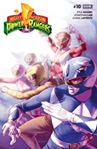 Mighty Morphin Power Rangers #10 Main Cvr