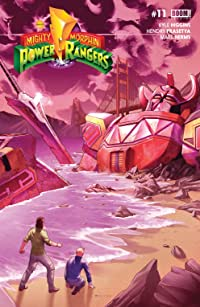 Mighty Morphin Power Rangers #11 Main Cvr