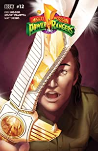 Mighty Morphin Power Rangers #12 Main Cvr