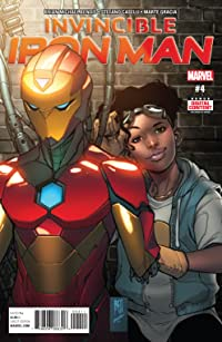 Invincible Iron Man (2016-) #4