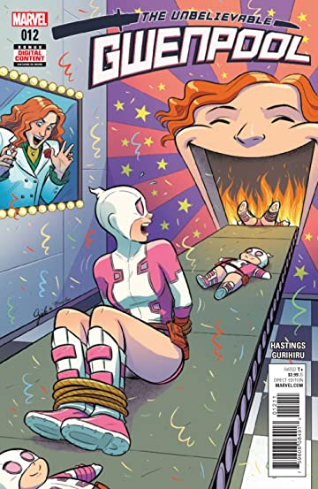 Gwenpool, The Unbelievable (2016-) #12