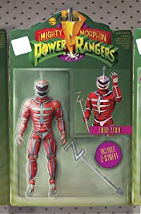 Mighty Morphin Power Rangers #13 Unlock Action Figure Var