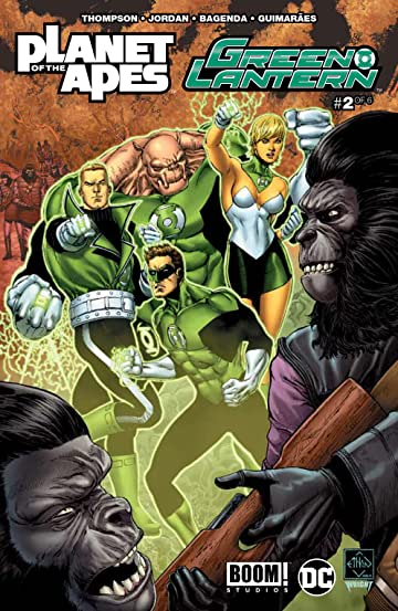 Planet of the Apes/Green Lantern #2 Main Cvr