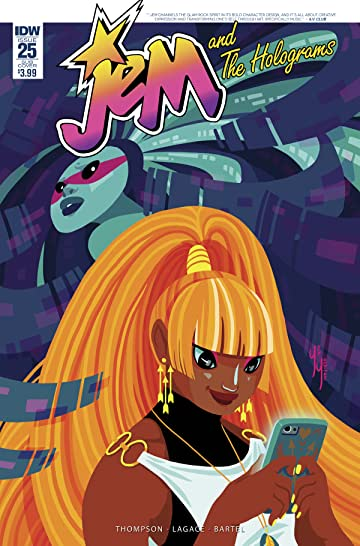Jem and the Holograms (2015-) #25 Subscription Var