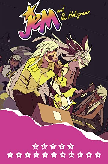 Jem and the Holograms (2015-) Vol. 4: Enter the Stingers TP