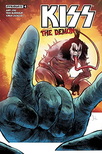 Kiss Demon #4 (of 4) Cvr A Strahm