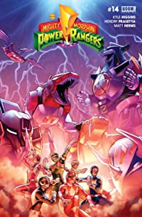 Mighty Morphin Power Rangers #14 Main Cvr