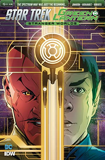 Star Trek/Green Lantern #5
