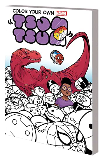 Color Your Own Marvel Tsum Tsum Tp Comixology Color Your Own Wolverine