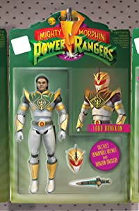 Mighty Morphin Power Rangers #15 Unlock Action Figure Santos Var