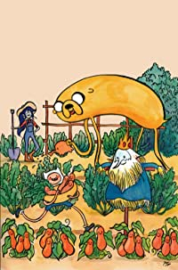 Adventure Time Comics #11 Subscription Wang Cvr