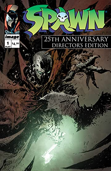 Spawn #1 25th Anniversary Directors Cut #1 Cvr A Wood