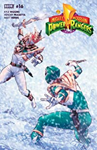 Mighty Morphin Power Rangers #16 Main Cvr