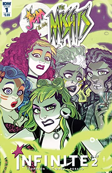 Jem & the Holograms Misfits Infinite #1 (of 3)