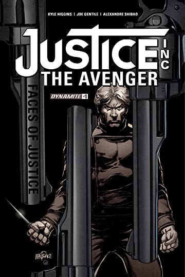 Justice Inc Faces of Justice #1 (of 4) Cvr A Mandrake