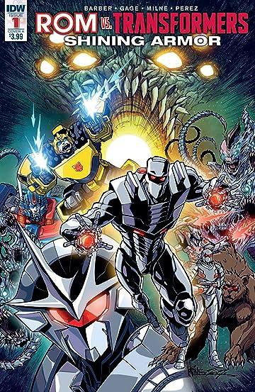 Rom vs. Transformers Shining Armor #1 Cvr A Milne
