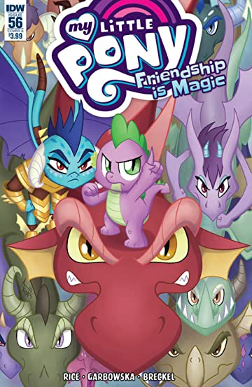 My Little Pony: Friendship Is Magic #56 Cvr A Garbowska