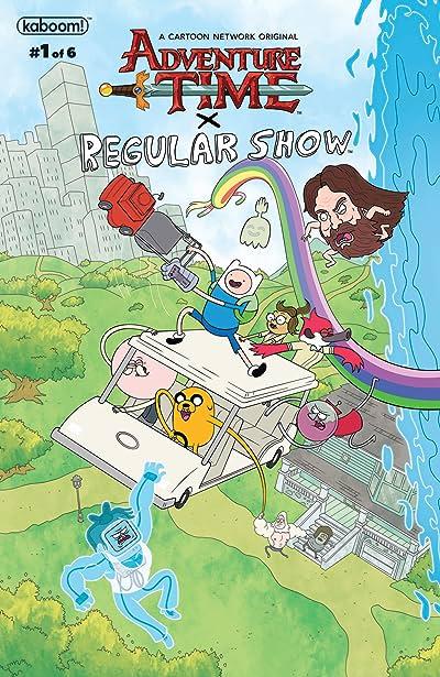 Adventure Time Regular Show #1 Main & Mix