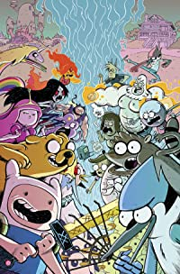Adventure Time Regular Show #1 Subscription Corona Var
