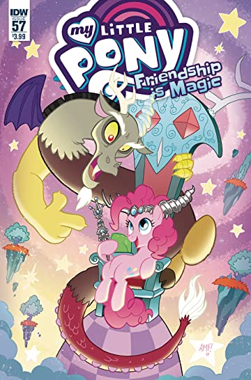 My Little Pony: Friendship Is Magic #57 Cvr A Fleecs