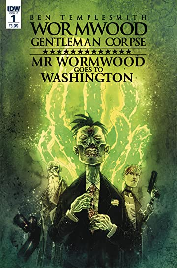 Wormwood Goes To Washington #1 (of 3) Cvr A Templesmith
