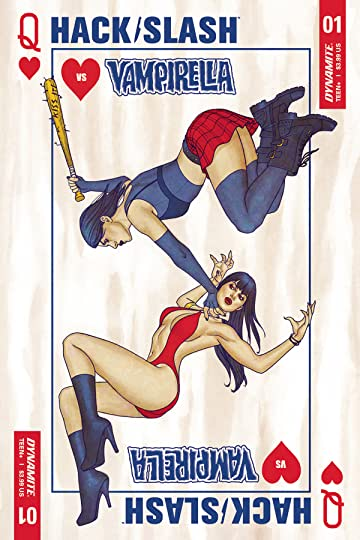 Hack/Slash vs. Vampirella #1 (of 5) Cvr A Frison