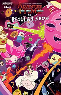 Adventure Time/Regular Show #3 Main & Mix