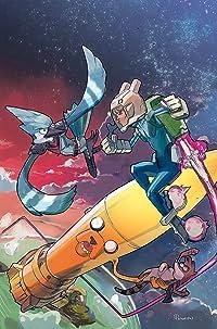 Adventure Time/Regular Show #3 Subscription Nguyen Var