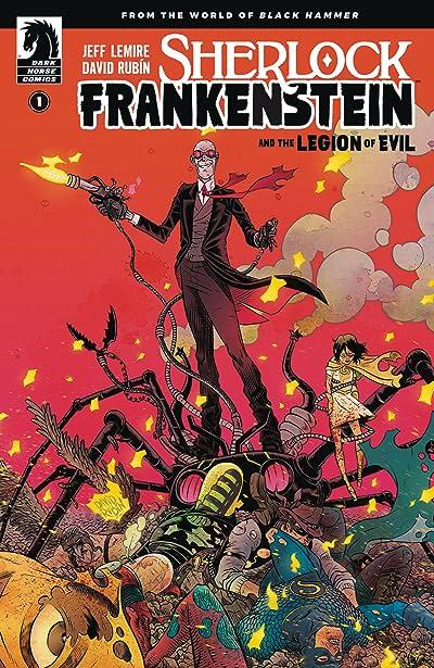 Sherlock Frankenstein & Legion of Evil #1 (of 4) Main