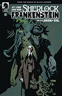 Sherlock Frankenstein & Legion of Evil #1 (of 4) Var Mignola Cvr