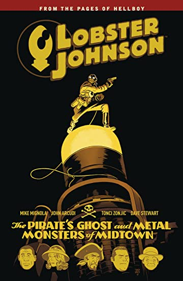 Lobster Johnson Vol. 5: Pirates Ghost TP