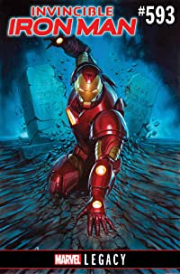 Invincible Iron Man #593 Leg