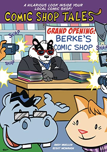 Comic Shop Tales Book 01 Grand Opening