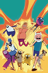 Adventure Time/Regular Show #5 Subscription Di Nicuolo Var