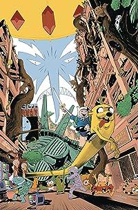 Adventure Time Comics #18 Subscription Pizarri Var