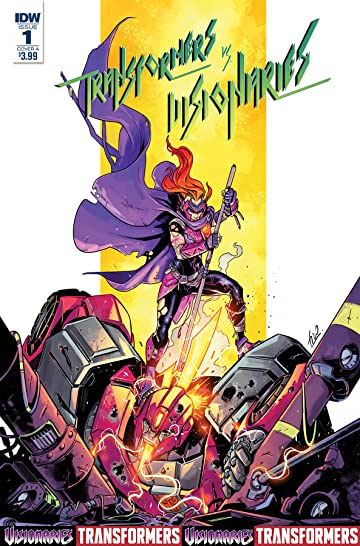 Transformers vs. the Visionaries #1 (of 5) Cvr A Ossio