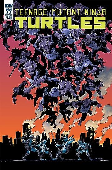 Teenage Mutant Ninja Turtles #77 Cvr A Couceiro