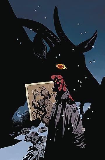 Hellboy Krampusnacht #1 Mignola Var