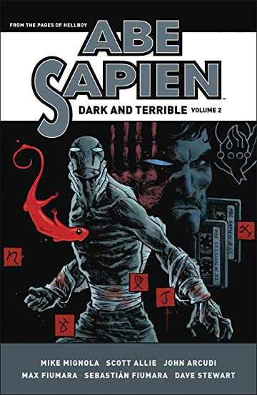 Abe Sapien Dark & Terrible Vol. 2 HC