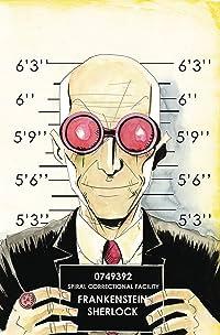 Sherlock Frankenstein & Legion of Evil #4 (of 4) Lemire Var