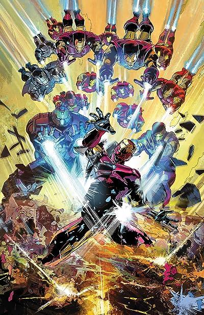Invincible Iron Man (2016-) #596 Leg