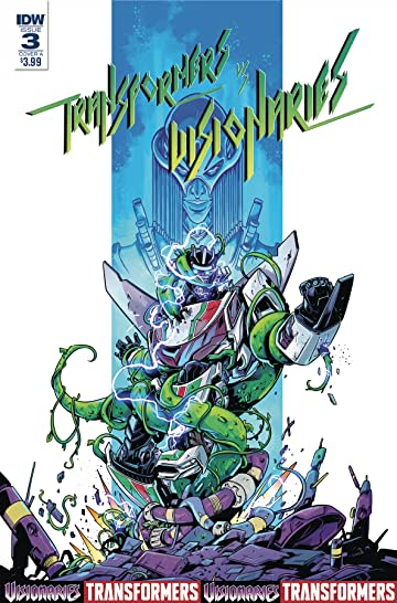 Transformers vs. the Visionaries #3 (of 5) Cvr A Ossio