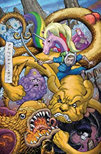 Adventure Time Comics #20 Subscription Frank Var