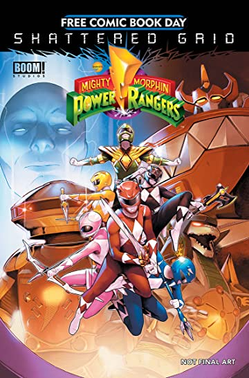 FCBD 2018 Boom Mighty Morphin Power Rangers Special Special