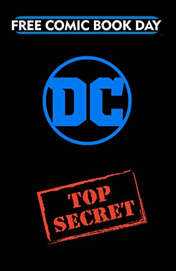 FCBD 2018 DC Comics Top Secret Gold Book