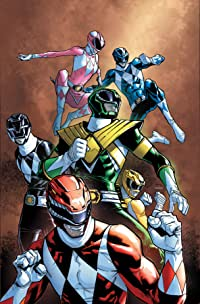 Mighty Morphin Power Rangers #25 Unlockable Match To Var