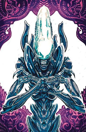 Aliens Dust To Dust #1 (of 4) (MR) Var D Anda Cvr