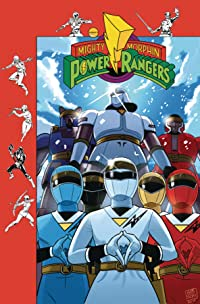 Mighty Morphin Power Rangers #26 Subscription Gibson Var